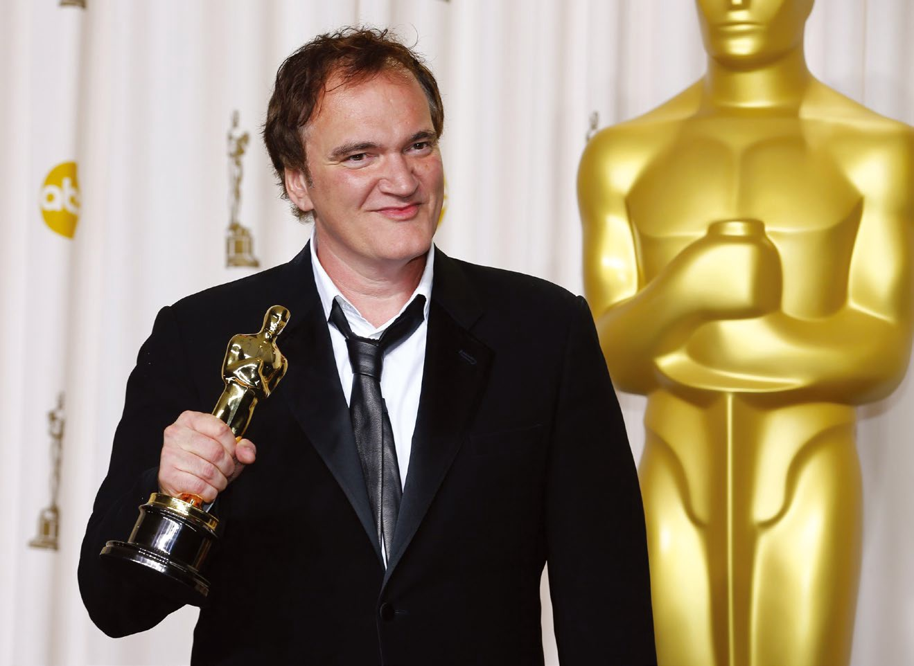 Quentin Tarantino winning his second Oscar