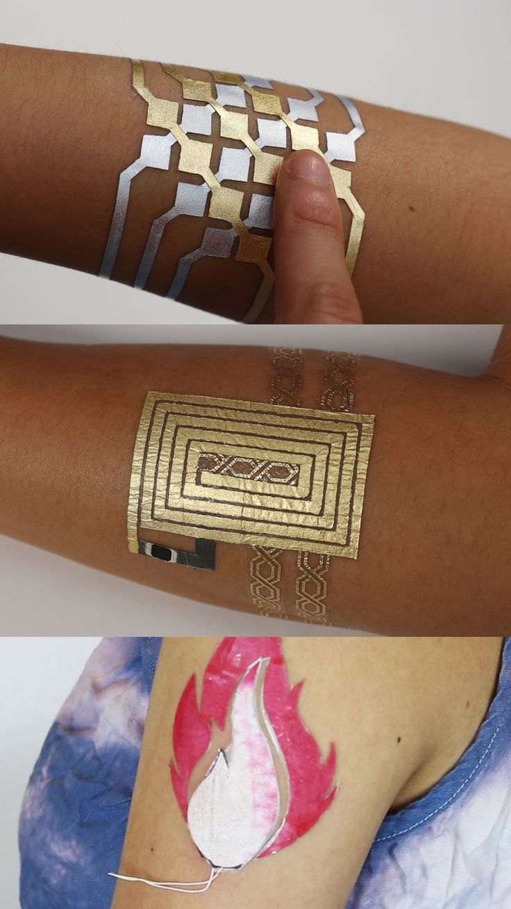 MITs DuoSkin turns temporary tattoos into on skin interfaces