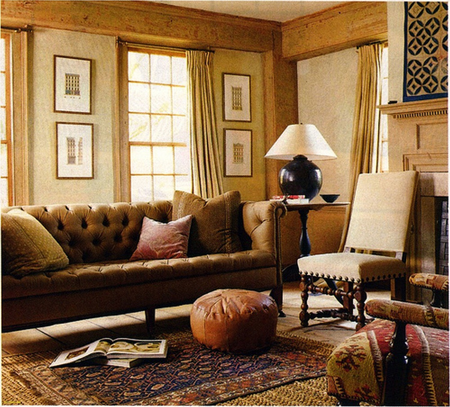 Tips to decorate your living rooms for autumn winter Pic 6